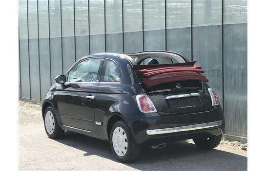 verkauft fiat 500l 500 cabrio 1 2 loun gebraucht 2014. Black Bedroom Furniture Sets. Home Design Ideas