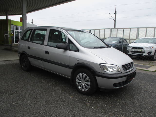 verkauft opel zafira comfort 1 6 16v gebraucht 1999 km in wildungsmauer. Black Bedroom Furniture Sets. Home Design Ideas