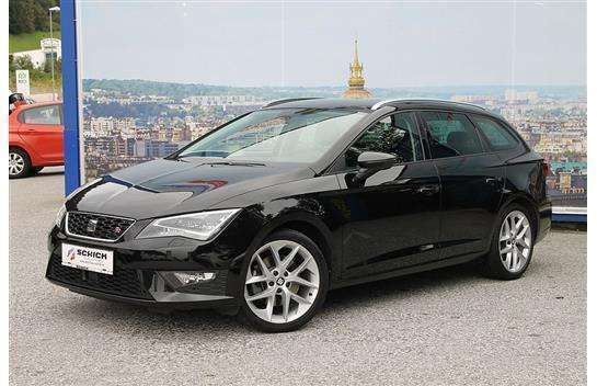 verkauft seat leon st fr 2 0 tdi cr st gebraucht 2015. Black Bedroom Furniture Sets. Home Design Ideas
