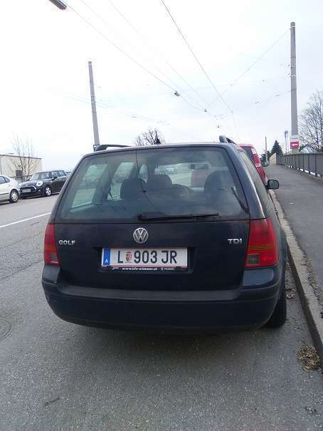 verkauft vw golf variant tdi kombi gebraucht 1999 km in linz. Black Bedroom Furniture Sets. Home Design Ideas