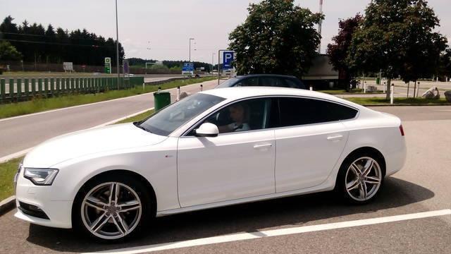 verkauft audi a5 sportback 2,0 tdi dpf., gebraucht 2013, 38.000 km