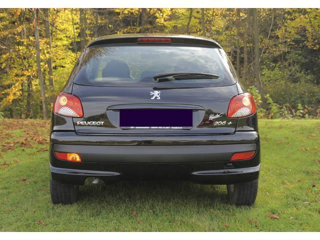verkauft peugeot 206 trendy 1 4 gebraucht 2009 km in gablitz. Black Bedroom Furniture Sets. Home Design Ideas