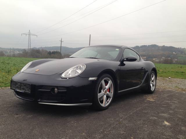 gebraucht 3 4 tiptronic porsche cayman s 2006 km in st florian. Black Bedroom Furniture Sets. Home Design Ideas