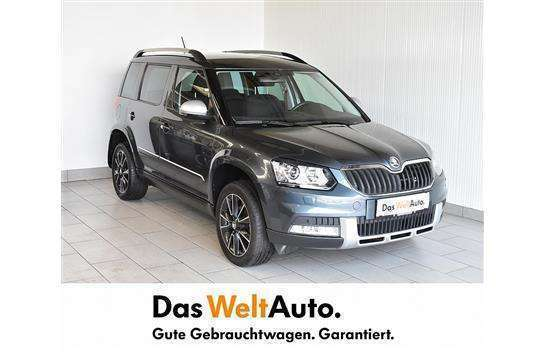 verkauft skoda yeti outdoor 4x4 elegan gebraucht 2014. Black Bedroom Furniture Sets. Home Design Ideas