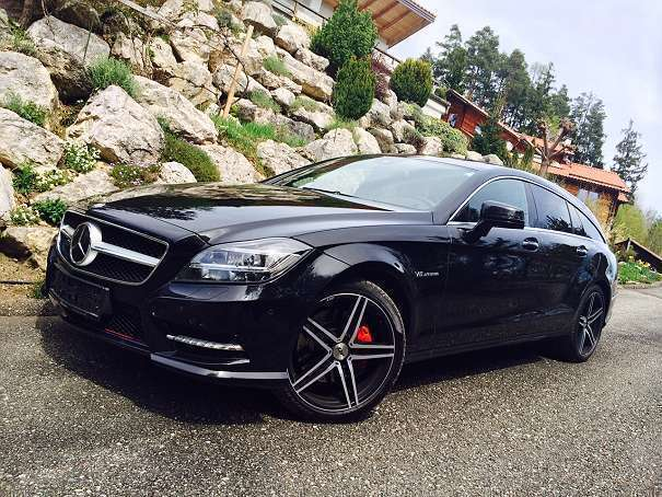 gebraucht cdi shooting brake aut amg sport command sd kombi mercedes cls350 2013 km in. Black Bedroom Furniture Sets. Home Design Ideas