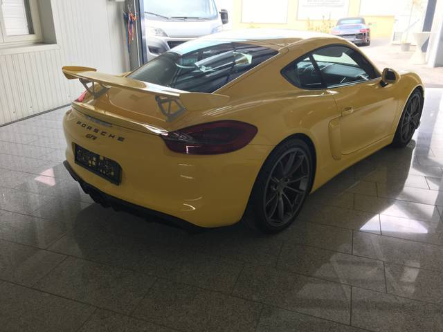 verkauft porsche cayman gt4 3 8 gebraucht 2016 843 km in gleisdorf. Black Bedroom Furniture Sets. Home Design Ideas