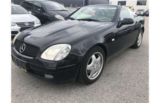 verkauft mercedes slk200 slk klassespo gebraucht 1998 km in. Black Bedroom Furniture Sets. Home Design Ideas