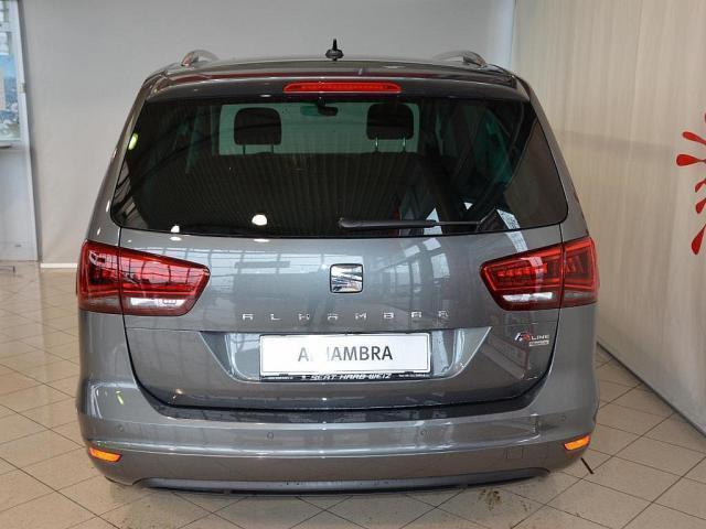 verkauft seat alhambra fr tdi dsg 4dri gebraucht 2017. Black Bedroom Furniture Sets. Home Design Ideas