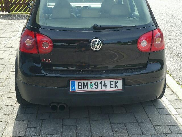 verkauft vw golf gti 2 0 gebraucht 2006 km in kapfenberg. Black Bedroom Furniture Sets. Home Design Ideas