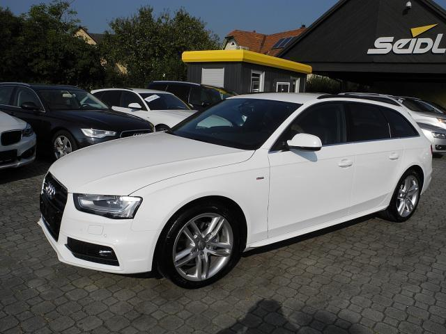 verkauft audi a4 2 0 tdi s line kombi gebraucht 2014 km in gleisdorf. Black Bedroom Furniture Sets. Home Design Ideas
