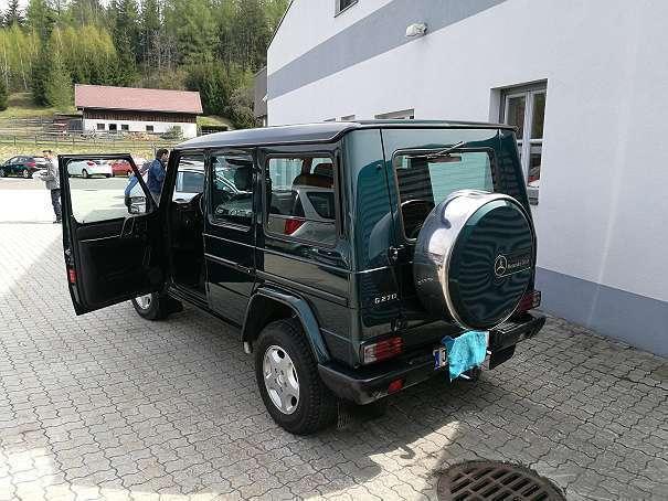 verkauft mercedes g270 g klassecdi 6 s gebraucht 2002 km in murtal. Black Bedroom Furniture Sets. Home Design Ideas