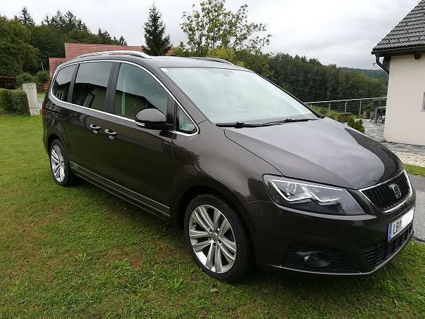 verkauft seat alhambra gt tdi cr dsg 7 gebraucht 2014. Black Bedroom Furniture Sets. Home Design Ideas