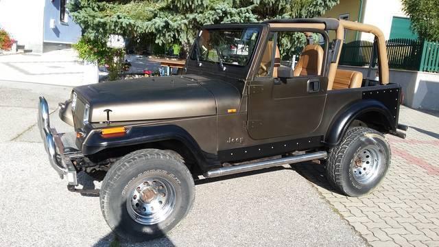 verkauft jeep wrangler 4 0 laredo hard gebraucht 1991. Black Bedroom Furniture Sets. Home Design Ideas