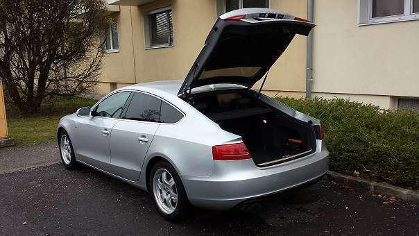 verkauft audi a5 limousine gebraucht 2011 km in linz. Black Bedroom Furniture Sets. Home Design Ideas