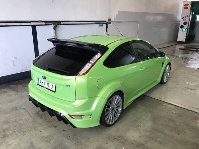 verkauft ford focus coup rs 2 5 gebraucht 2009 km in linz. Black Bedroom Furniture Sets. Home Design Ideas
