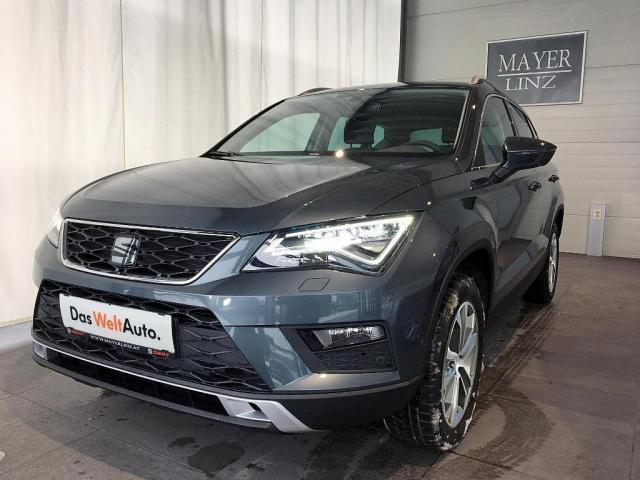 verkauft seat ateca style 1 0 tsi gebraucht 2017 10 km. Black Bedroom Furniture Sets. Home Design Ideas