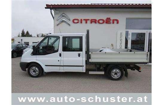 Gebraucht Ford Transit Doka Pritsche 300m 2 Tdci Ahk