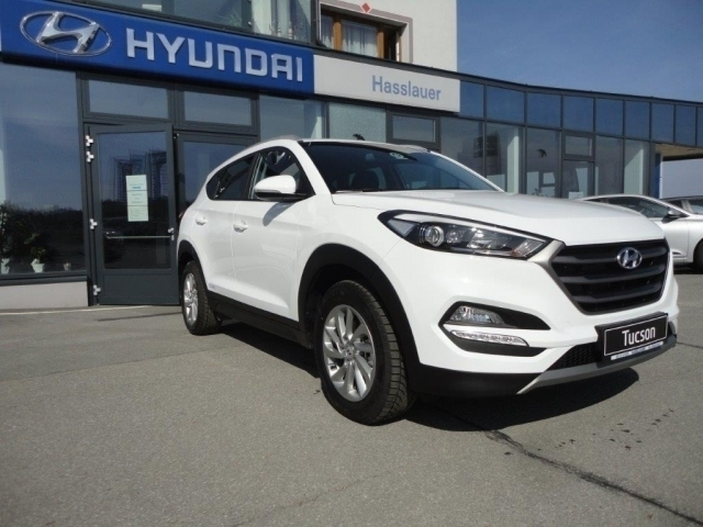 verkauft hyundai tucson go 2 0 crdi 4w gebraucht 2016 0. Black Bedroom Furniture Sets. Home Design Ideas