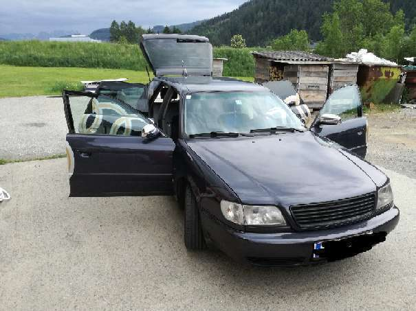 verkauft audi a6 2 5 tdi kombi gebraucht 1996 km in liesingtal. Black Bedroom Furniture Sets. Home Design Ideas