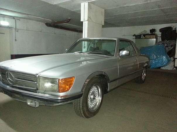 verkauft mercedes 280 sportwagen cou gebraucht 1976. Black Bedroom Furniture Sets. Home Design Ideas