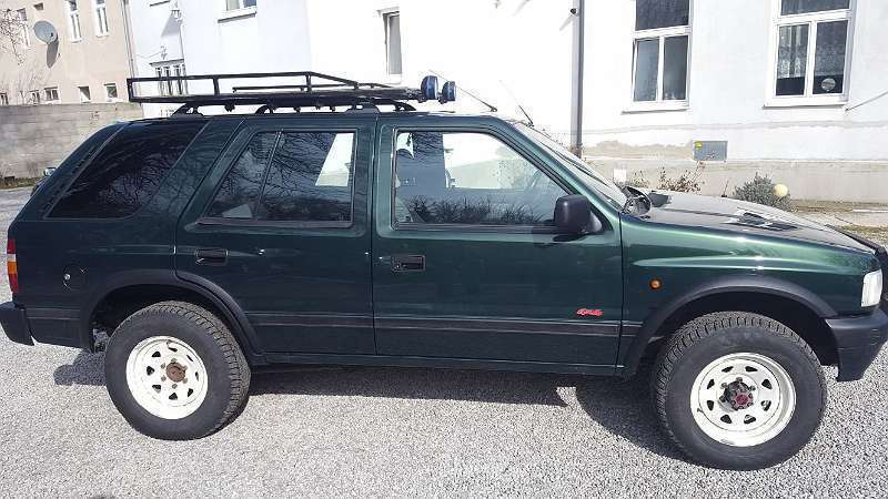 verkauft opel frontera frontera2 8 tdi gebraucht 1996 km in kottingbrunn. Black Bedroom Furniture Sets. Home Design Ideas