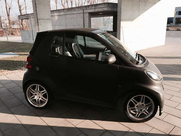 verkauft smart fortwo cabrio fortwo ca gebraucht 2008 km in st p lten. Black Bedroom Furniture Sets. Home Design Ideas