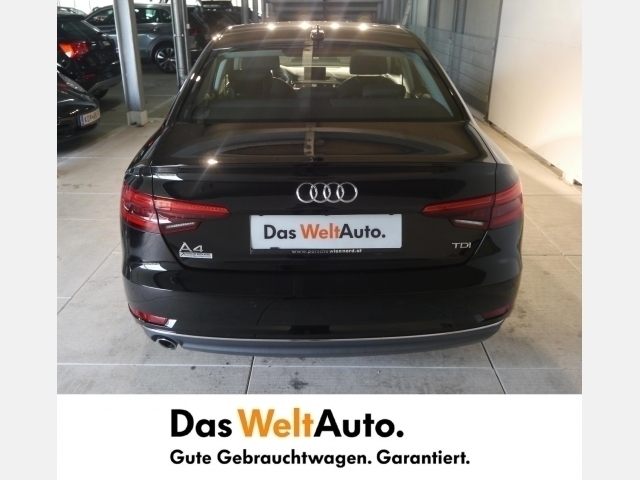 verkauft audi a4 limousine 2 0 tdi spo gebraucht 2016 km in wien. Black Bedroom Furniture Sets. Home Design Ideas