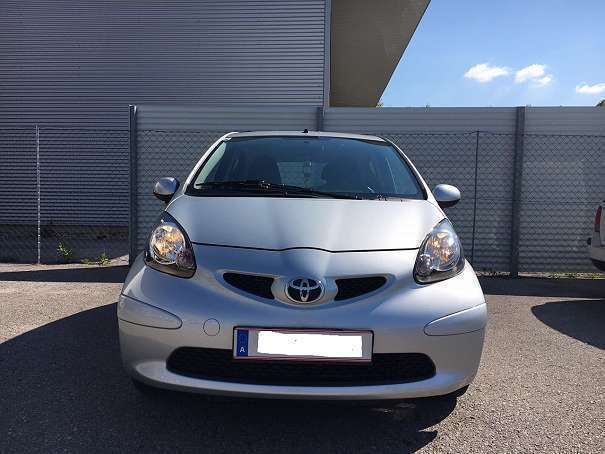 verkauft toyota aygo 1 0 vvt i cool mm gebraucht 2007 km in graz. Black Bedroom Furniture Sets. Home Design Ideas