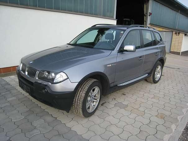 verkauft bmw x3 x3limousine gebraucht 2005 km in. Black Bedroom Furniture Sets. Home Design Ideas