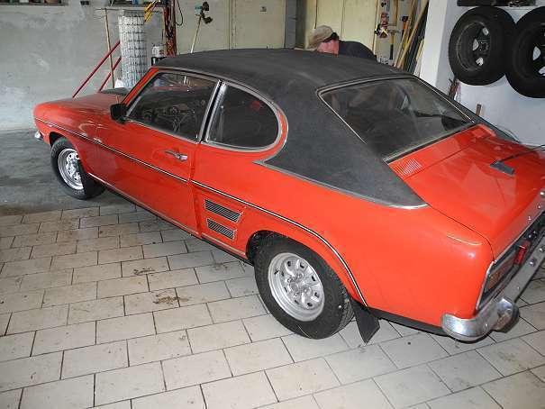verkauft ford capri 1600 xl sportwagen gebraucht 1972 km in niederneukirchen. Black Bedroom Furniture Sets. Home Design Ideas