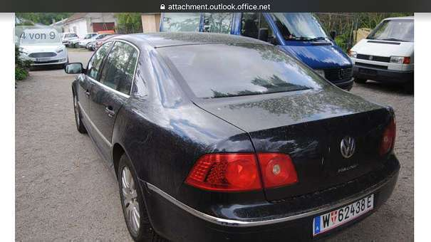 verkauft vw phaeton phaeton 3 0 tdi l gebraucht 2005 km in wien. Black Bedroom Furniture Sets. Home Design Ideas
