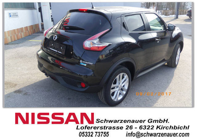 verkauft nissan juke 1 5 dci n connecta gebraucht 2016. Black Bedroom Furniture Sets. Home Design Ideas