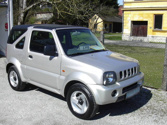 verkauft suzuki jimny lx beach cabrio gebraucht 2004 km in aurolzm nster. Black Bedroom Furniture Sets. Home Design Ideas