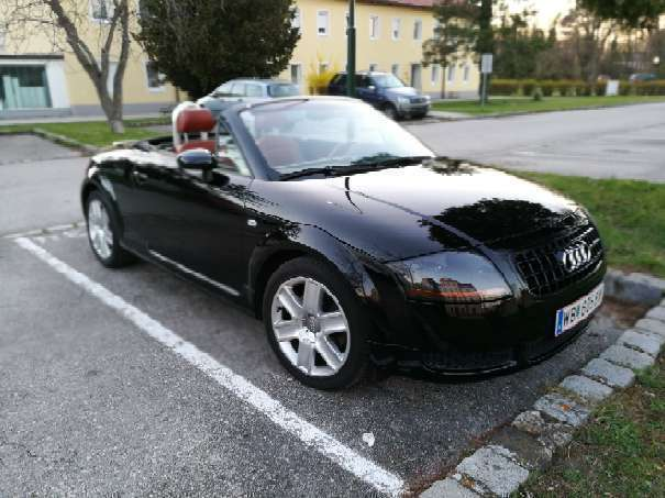 verkauft audi tt roadster cabrio gebraucht 2003 km in felixdorf. Black Bedroom Furniture Sets. Home Design Ideas