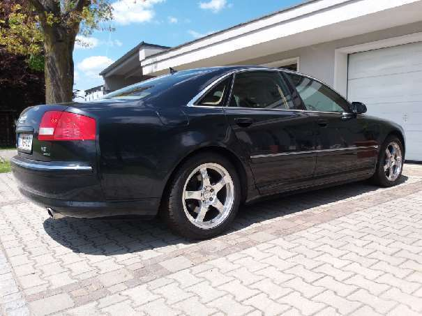 verkauft audi a8 v8 3700ccm limousine gebraucht 2004 km in st egyden. Black Bedroom Furniture Sets. Home Design Ideas