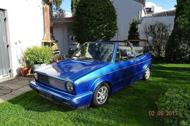 verkauft vw golf cabriolet 1 cabrio gebraucht 1992 km in klagenfurt. Black Bedroom Furniture Sets. Home Design Ideas