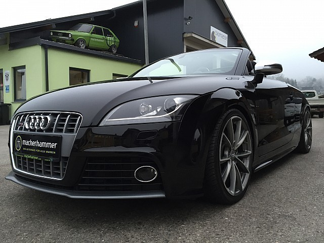 gebraucht cabrio audi tt roadster 2008 km in graz. Black Bedroom Furniture Sets. Home Design Ideas