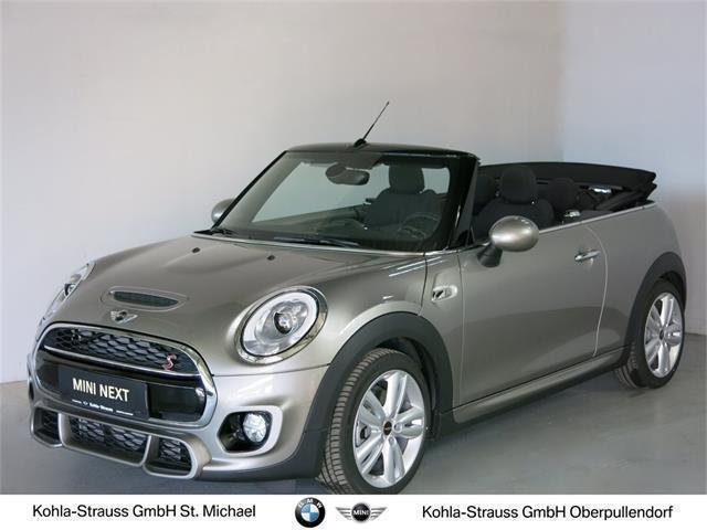 verkauft mini cooper s cabriolet cabri gebraucht 2016 km in st michael. Black Bedroom Furniture Sets. Home Design Ideas