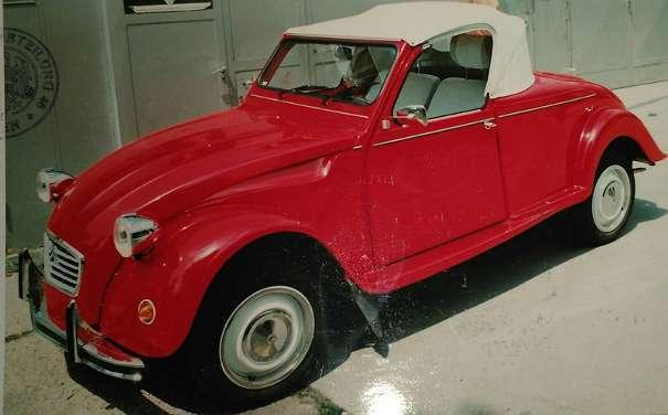 verkauft citro n 2cv cabrio roadster gebraucht 1983 km in gralla. Black Bedroom Furniture Sets. Home Design Ideas