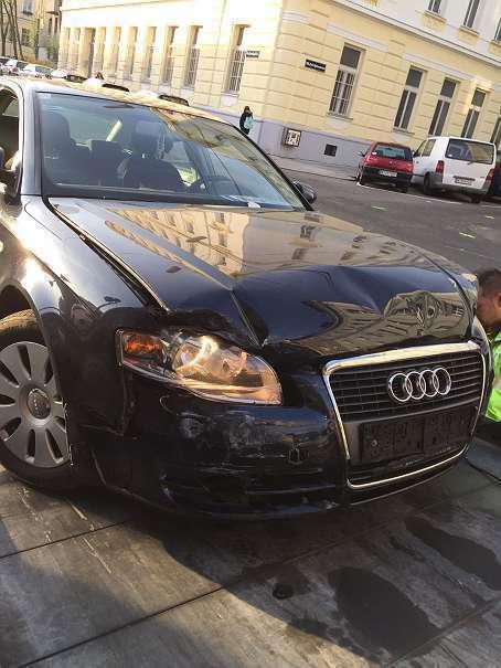 Verkauft Audi A4 Unfall Auto 1,9 Diese., gebraucht 2005, 209.000 km ...