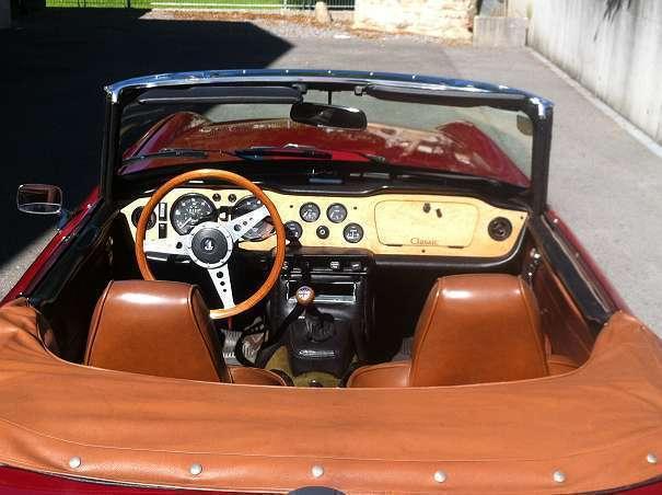 verkauft triumph tr6 cabrio roadster gebraucht 1972 km in lustenau. Black Bedroom Furniture Sets. Home Design Ideas