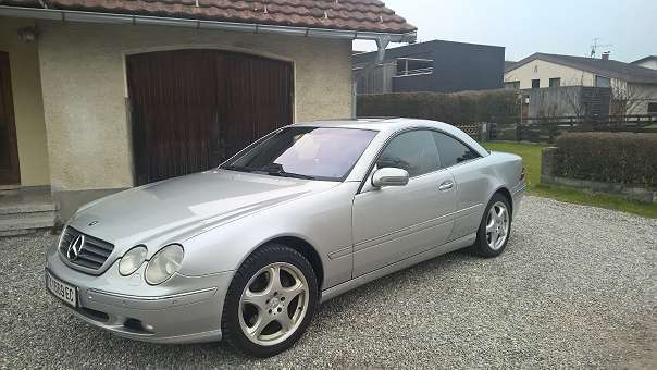 verkauft mercedes cl500 cl klassesport gebraucht 2000 km in klaus. Black Bedroom Furniture Sets. Home Design Ideas