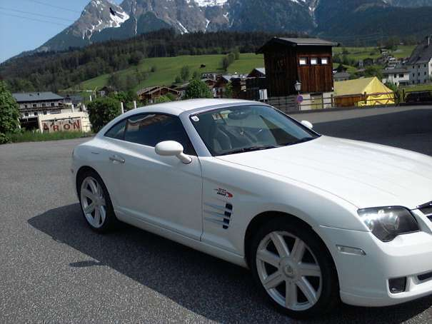 verkauft chrysler crossfire sportwagen gebraucht 2004 km in zell am see. Black Bedroom Furniture Sets. Home Design Ideas