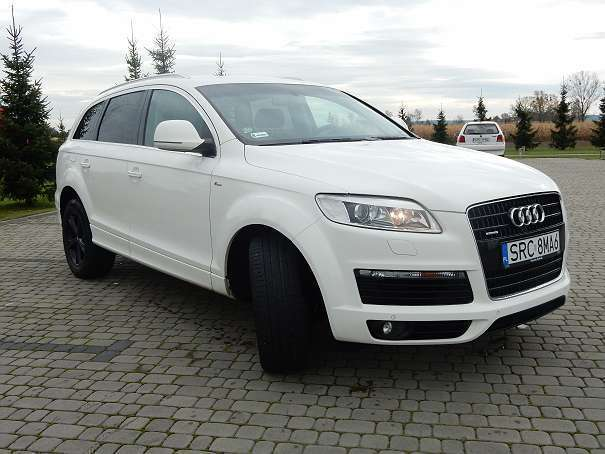 verkauft audi q7 3 0 sline suv gel n gebraucht 2007 km in. Black Bedroom Furniture Sets. Home Design Ideas