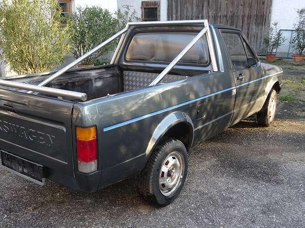 verkauft vw caddy 14 k pickup pritsc gebraucht 1990. Black Bedroom Furniture Sets. Home Design Ideas