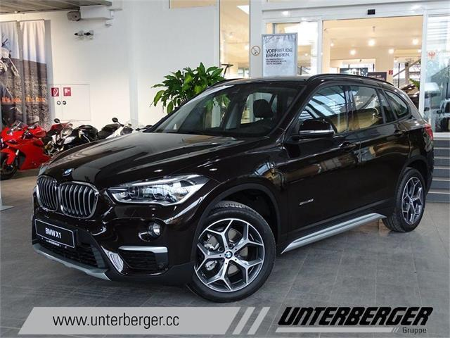gebraucht sdrive18i sport line bmw x1 2016 km in. Black Bedroom Furniture Sets. Home Design Ideas