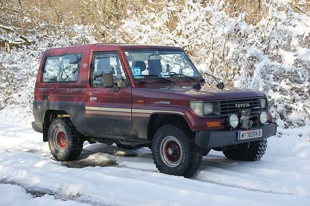 verkauft toyota land cruiser lj73 suv gebraucht 1992 km in wien. Black Bedroom Furniture Sets. Home Design Ideas