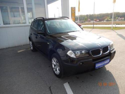 verkauft bmw x3 2 0d e83 m47 gebraucht 2005 km in f rstenfeld. Black Bedroom Furniture Sets. Home Design Ideas