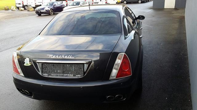 gebraucht v8 4 2l limousine maserati quattroporte 2009 km in rankweil. Black Bedroom Furniture Sets. Home Design Ideas