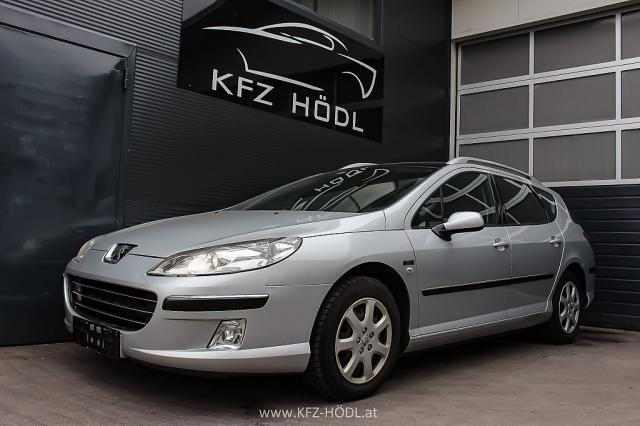 verkauft peugeot 407 sw comfort 2 0 hd gebraucht 2007 km in ludersdorf. Black Bedroom Furniture Sets. Home Design Ideas